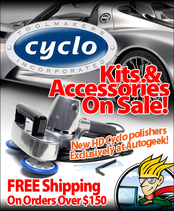 Cyclo Exclusive At Autogeek Amp Free Shipping